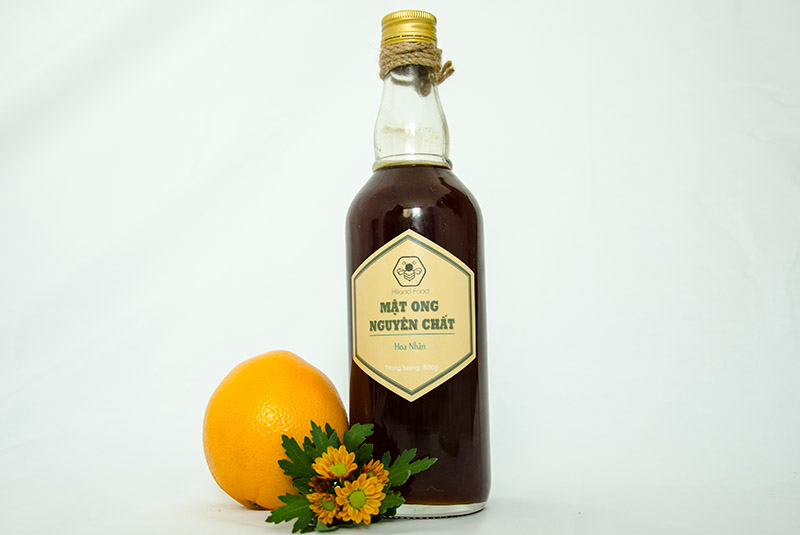Hình ảnh mật ong hoa nhãn, mật hoa cà phê2018