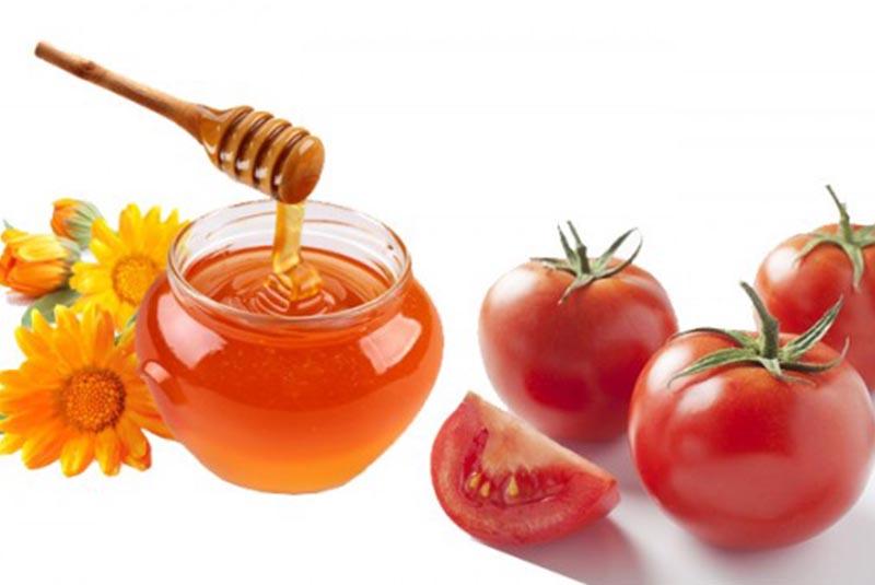 Mặt nạ mật ong cà chua